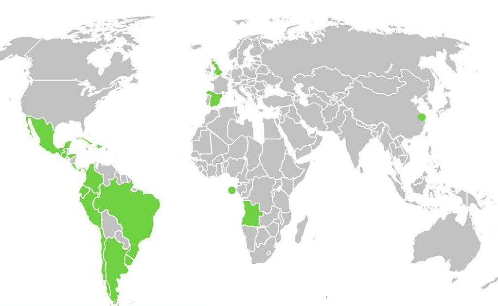 cont 1024x630 - ITAérea Presente en 4 Continentes