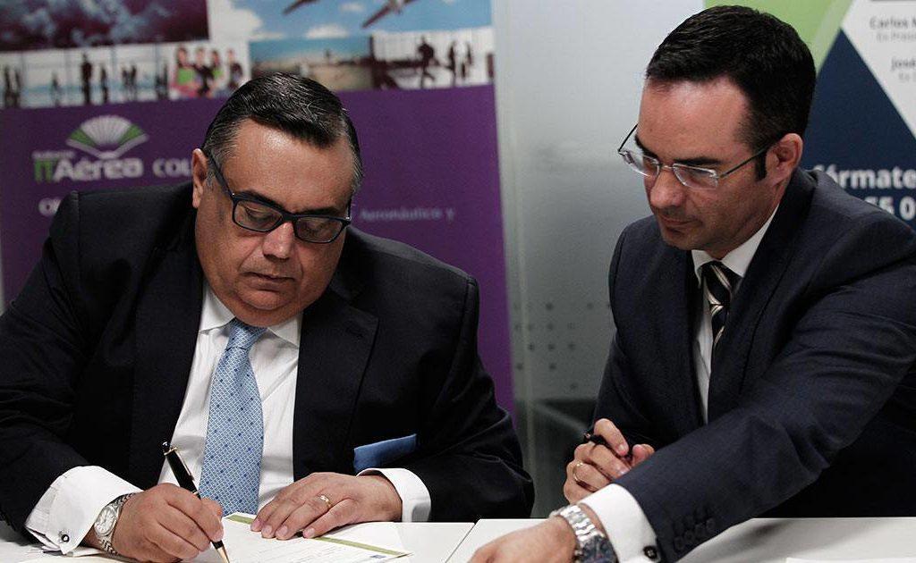 firma 1024x630 - ACI LAC e ITAérea Amplían su Alianza Tras la Reunión Mantenida en Madrid