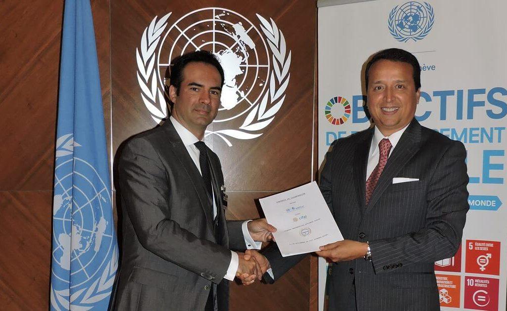 nueva 1024x630 - ITAérea, UNITAR (ONU) y CIFAL Mérida Amplían su Convenio de Colaboración