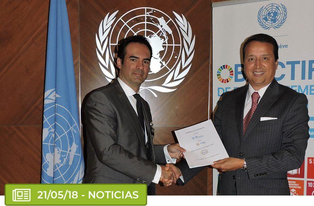 nueva 1024x671 - ITAérea, UNITAR (ONU) y CIFAL Mérida amplían su convenio de colaboración