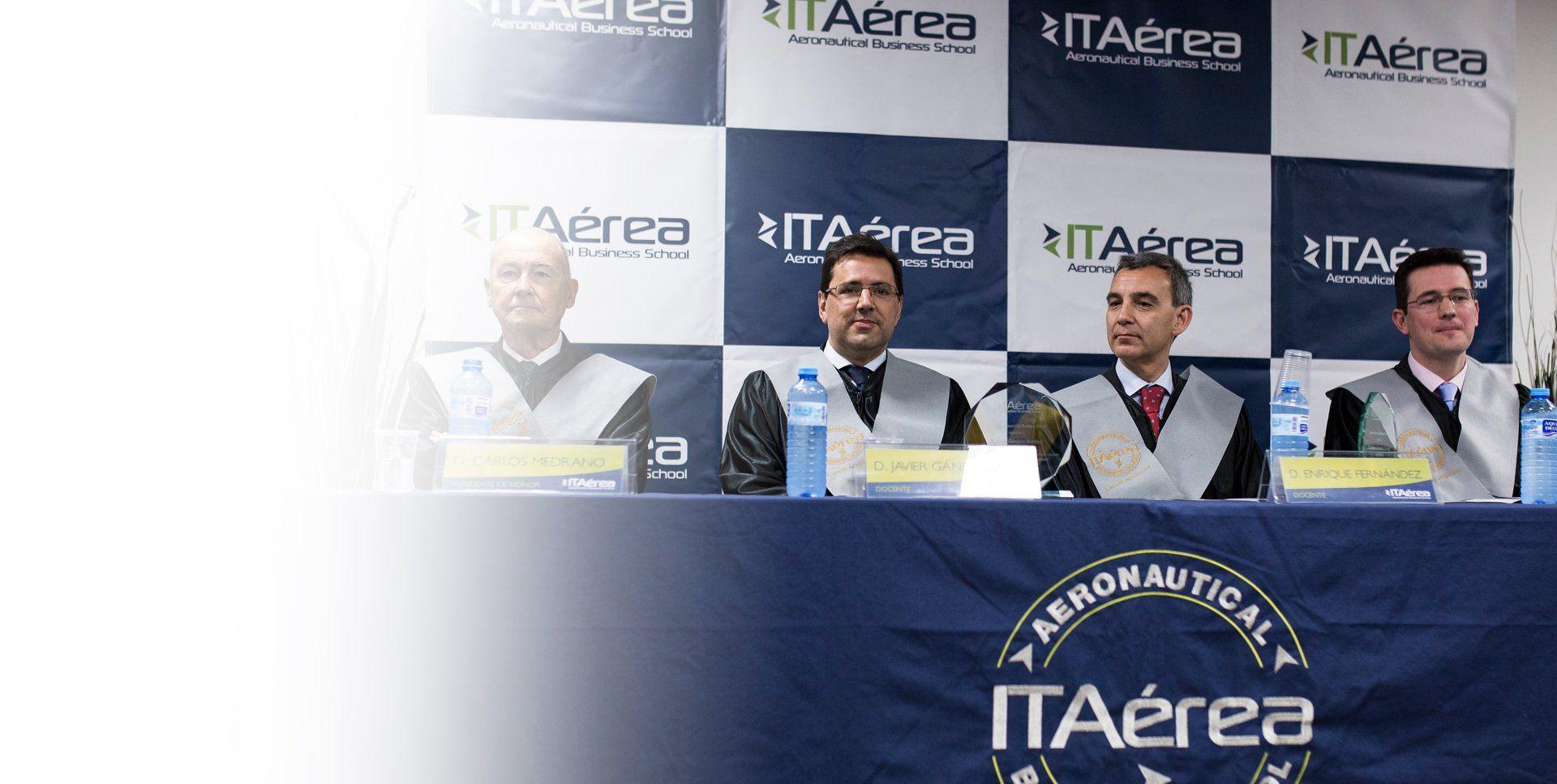 <span class='negritaslide'>CURSOS y SEMINARIOS</span><br /> ITAérea  Aeronautical Business School.