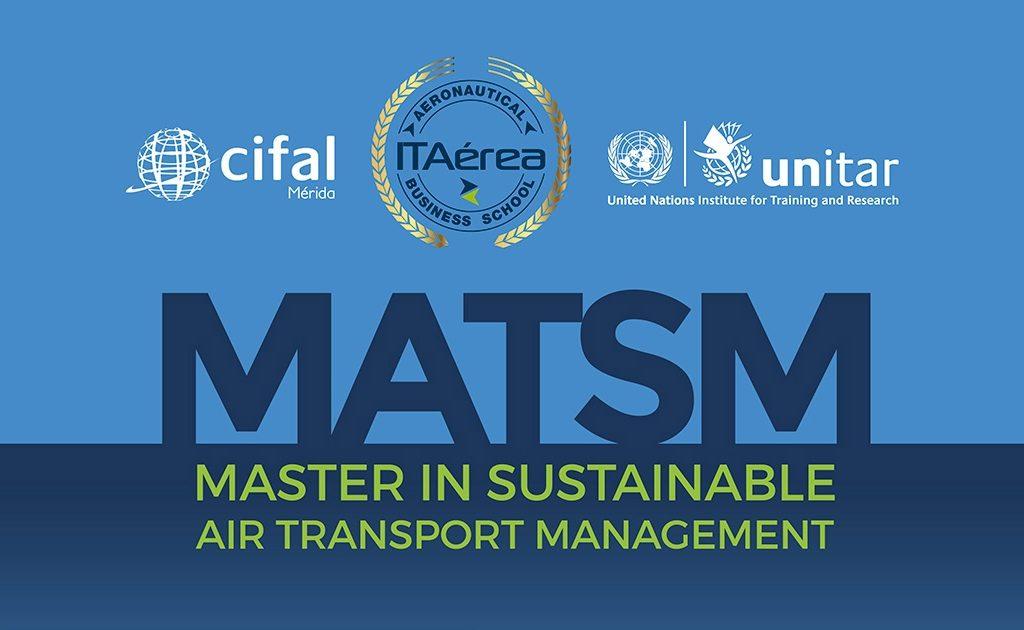matsmnoticia 1024x630 - Máster in Sustainable Air Transport Management Impartido Conjuntamente con UNITAR (ONU)