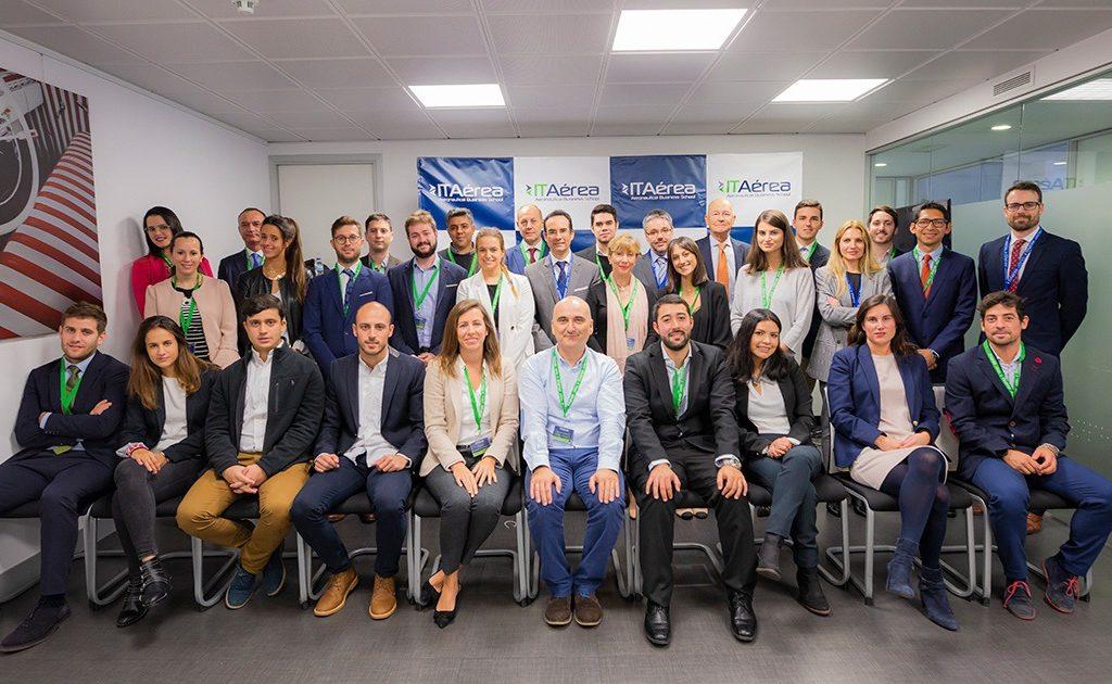 itaereaa 1024x630 - ITAérea da La Bienvenida a la Promoción 2018-2020 del MGDA Executive Presencial de Madrid