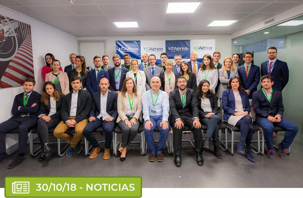 itaereaa 1024x671 - ITAérea da la bienvenida a la promoción 2018-2020 del Máster en Gestión y Dirección Aeroportuaria y Aeronáutica executive presencial de Madrid