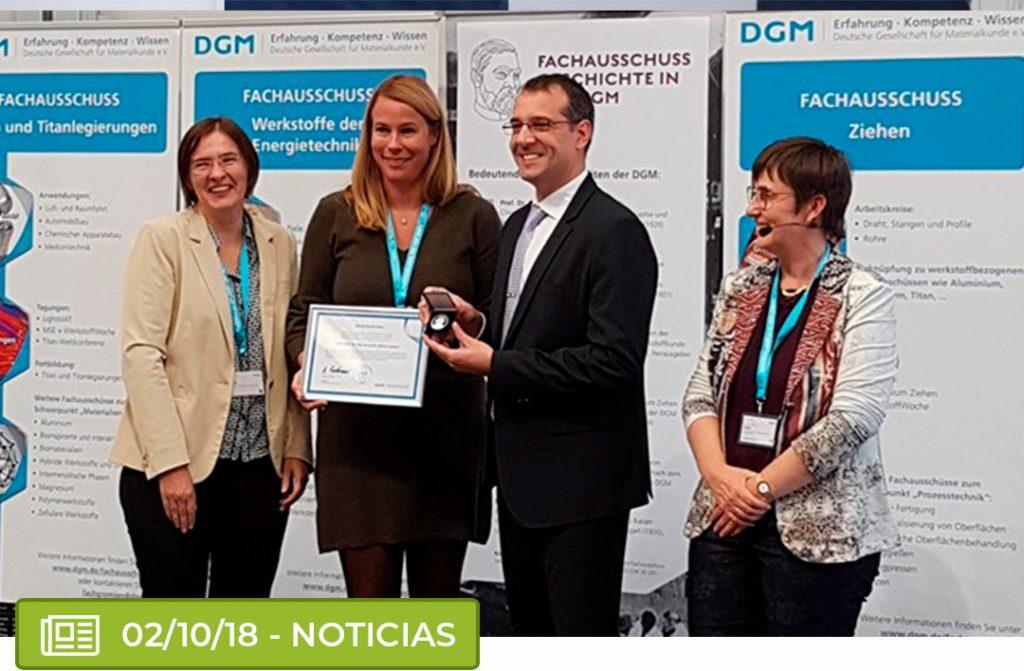 lasagni 1024x671 - El docente de ITAérea Dr. Fernando Lasagni y su equipo de Catec, premiados en Alemania.