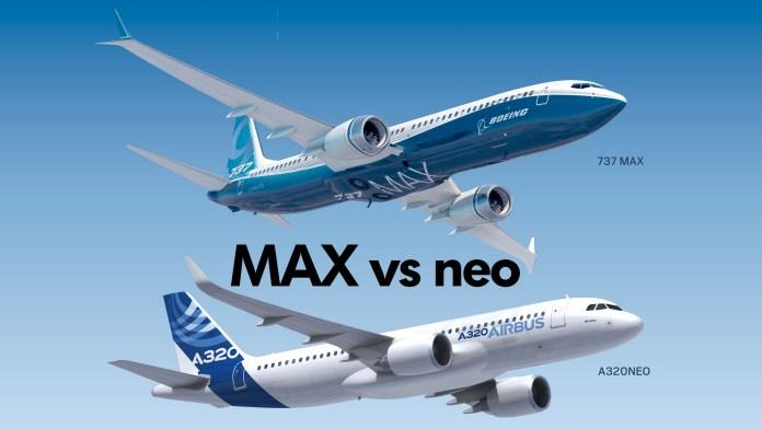 A320 neo vs Boeing 737 MAX - Airbus y Boeing. La situación del sector aeronáutico mundial