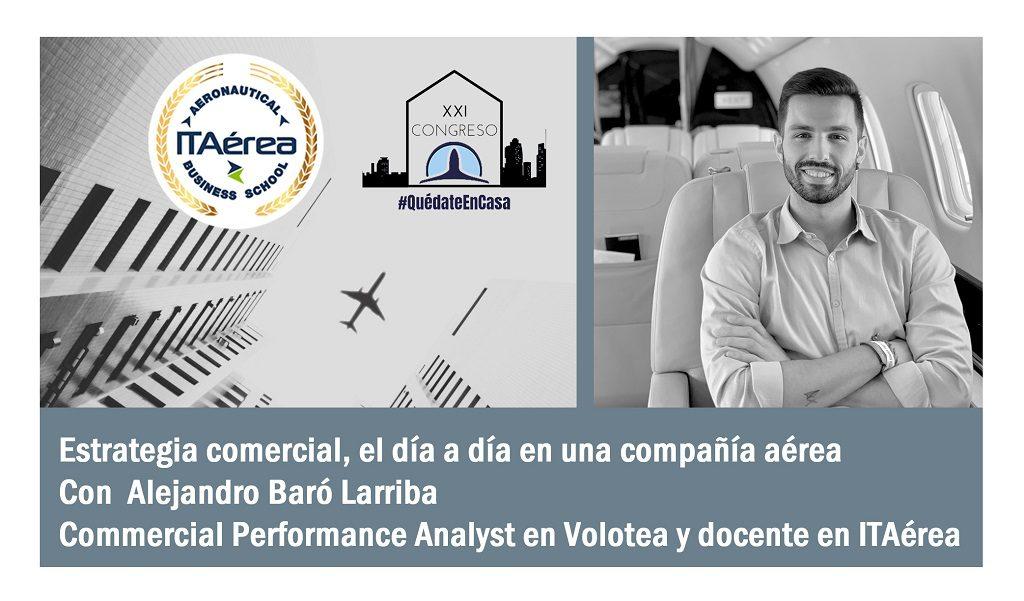 ALEX BARO AEAE 3 1024x601 - ITAérea colabora con el XXI Congreso Virtual de la Asociación de Estudiantes de Aeronáutica y Espacio