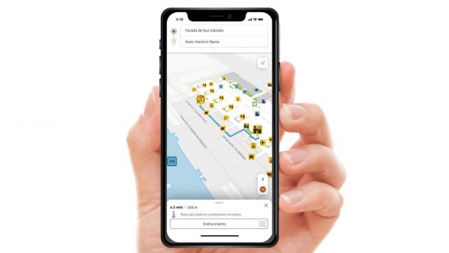 AenaMaps - Guiarse en el aeropuerto ya es posible gracias a esta app desarrollada por AENA y Telefónica