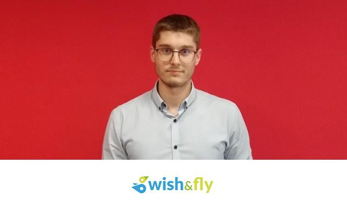 Alberto García wish and fly2 - La Empresa Wish&Fly, Gestada por Alumnos de ITAérea Barcelona, Gana la II Edición de los Premios Startup Franquicias