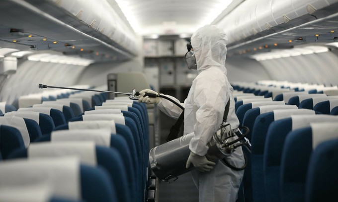 COVID 19 - El impacto económico global del brote de coronavirus COVID-19 en el sector aéreo