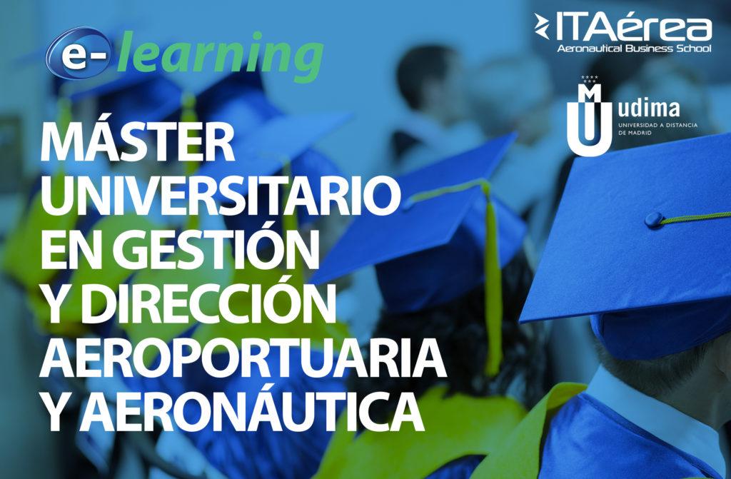FORMACIÓN E LEARNING UDIMA 1024x671 - Formación e-learning: Máster Universitario en Gestión y Dirección Aeroportuaria y Aeronáutica UDIMA