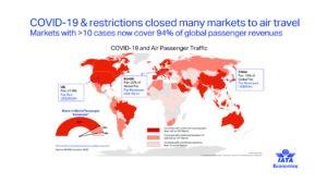 IATA COVID 19 300x168 - La gestión medioambiental sostenible y eficiente de los aeropuertos