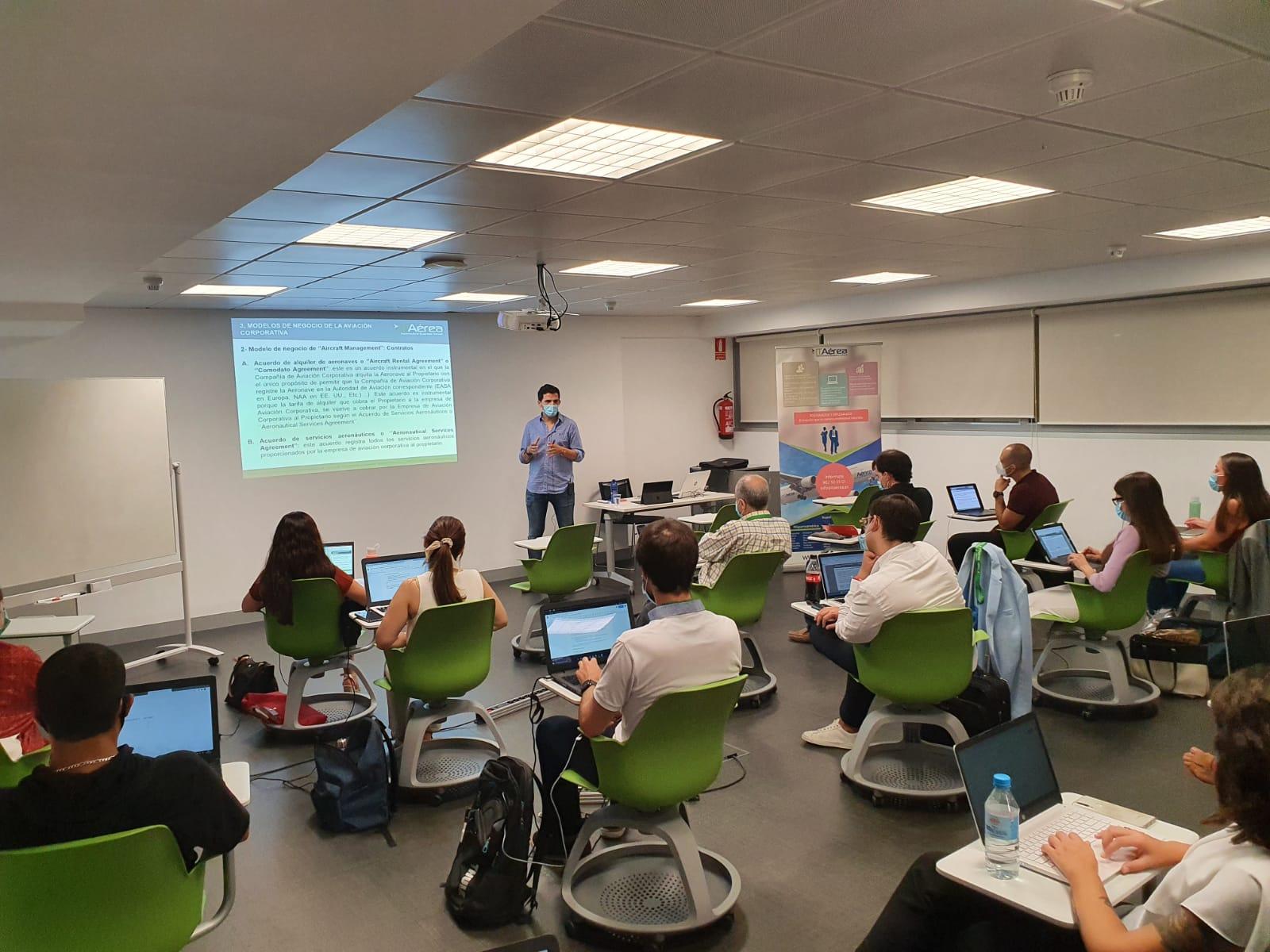 IMG 20200904 WA0004 - Éxito en el regreso a las aulas en las sedes presenciales de ITAérea Aeronautical Business School