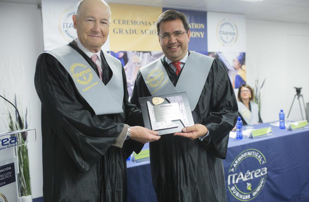 JC 8663 1024x671 - Don Javier Gándara, Director General de easyJet España y Portugal, nombrado Vicepresidente de Honor de ITAérea