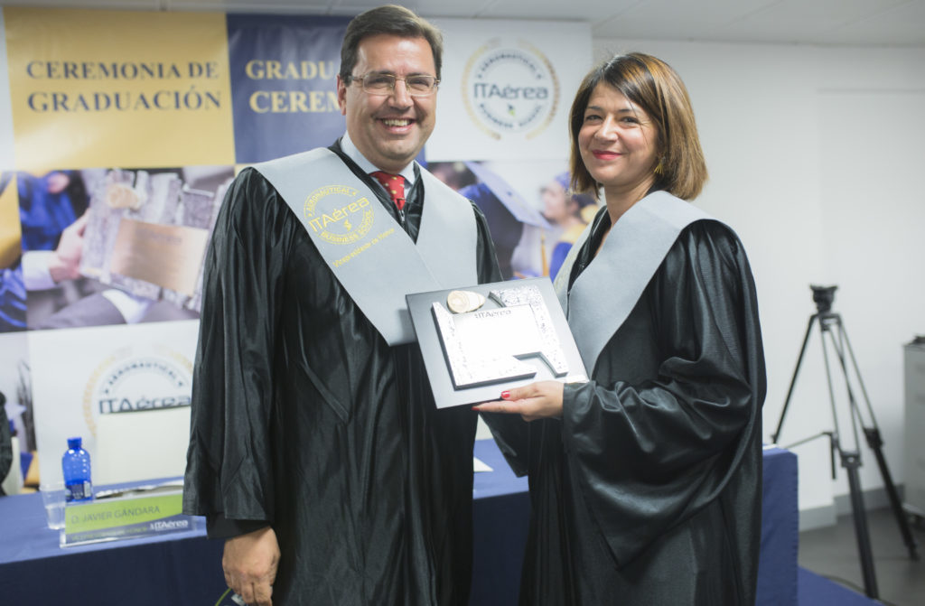 JC 8679 1024x671 - María José Cuenda Chamorro, Directora General de Negocio no Regulado de AENA, Madrina de Promoción de ITAérea 2017-2019