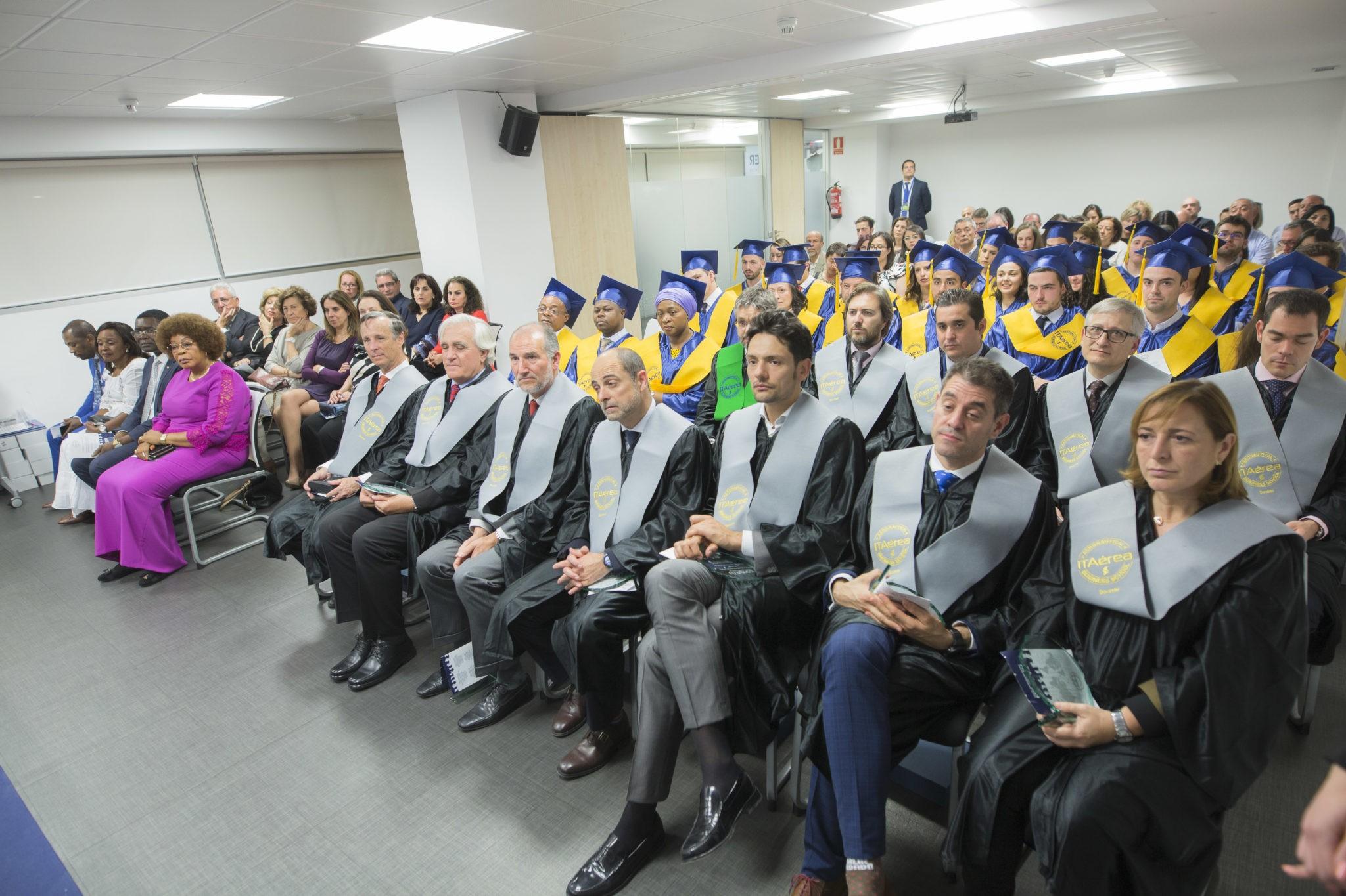 JC 8942 - Ceremonia de graduación del Máster en Gestión y Dirección Aeroportuaria y Aeronáutica 2017-2019 en ITAérea Madrid