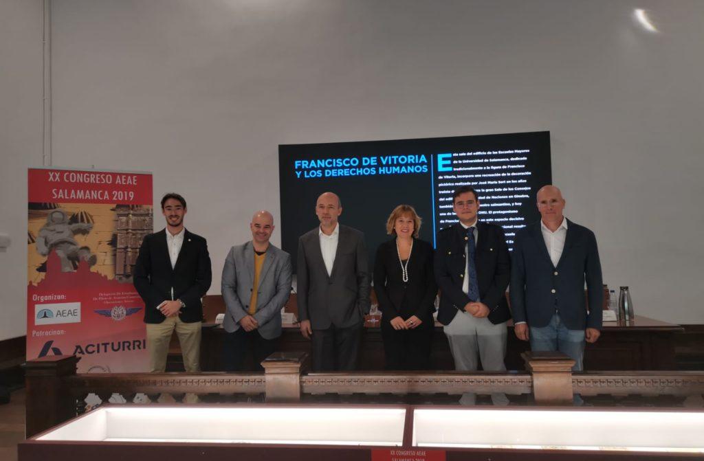 MESA3 1024x671 - El resultado de la participación de ITAérea en el XX Congreso de la Asociación de Estudiantes de Aeronáutica y Espacio celebrado en la Universidad de Salamanca