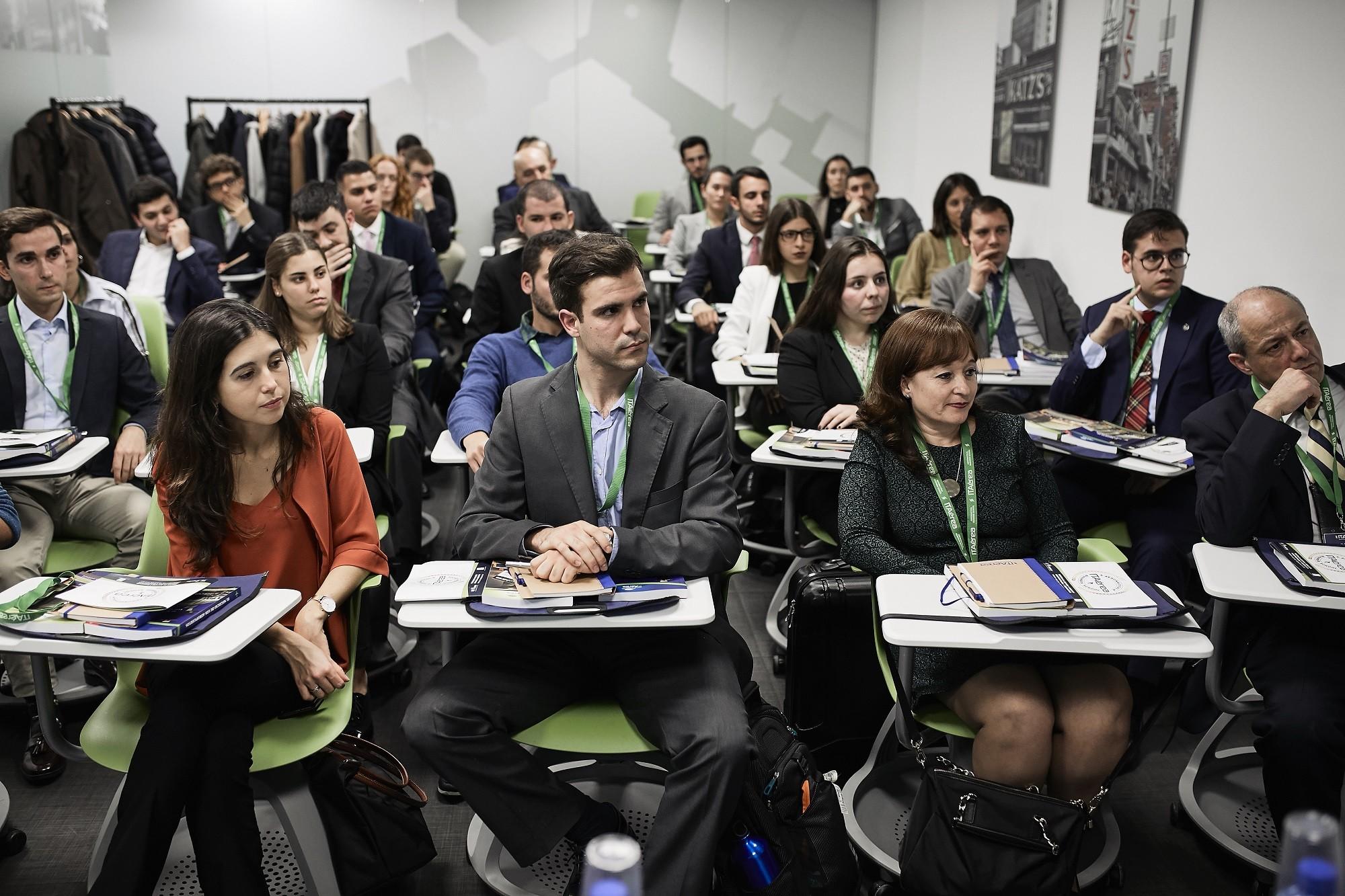 MG 8820 - ITAérea da la bienvenida a la promoción 2019-2021 del MGDA Executive Presencial de Madrid