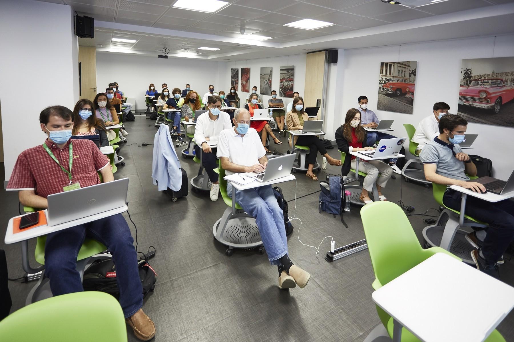 MG 8851 - Éxito en el regreso a las aulas en las sedes presenciales de ITAérea Aeronautical Business School