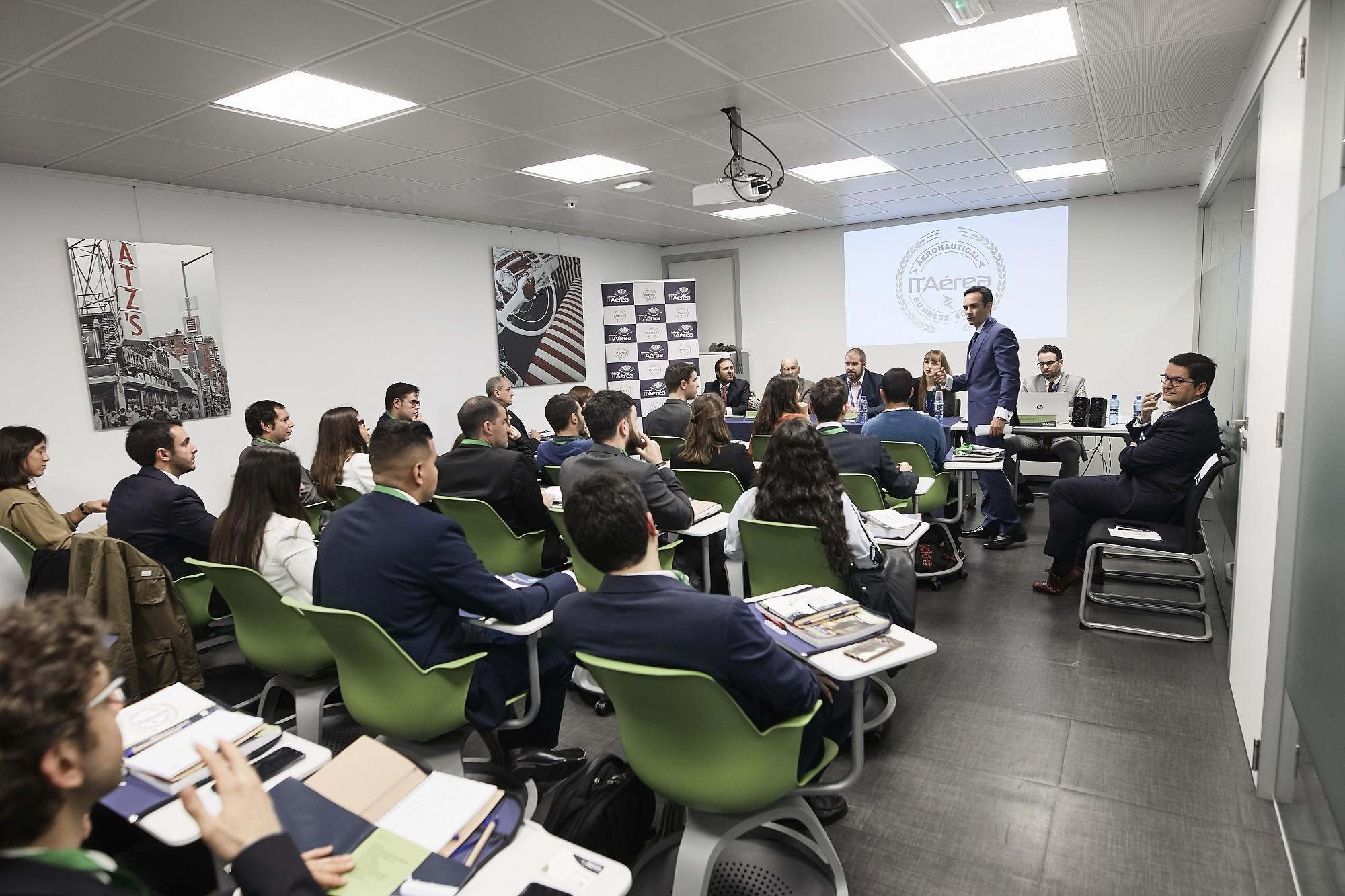 MG 8876 - ITAérea da la bienvenida a la promoción 2019-2021 del MGDA Executive Presencial de Madrid