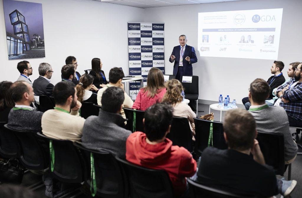 MG 9154 1024x671 - Alumnos de ITAérea Aeronautical Business School exponen los planes de negocio de sus empresas