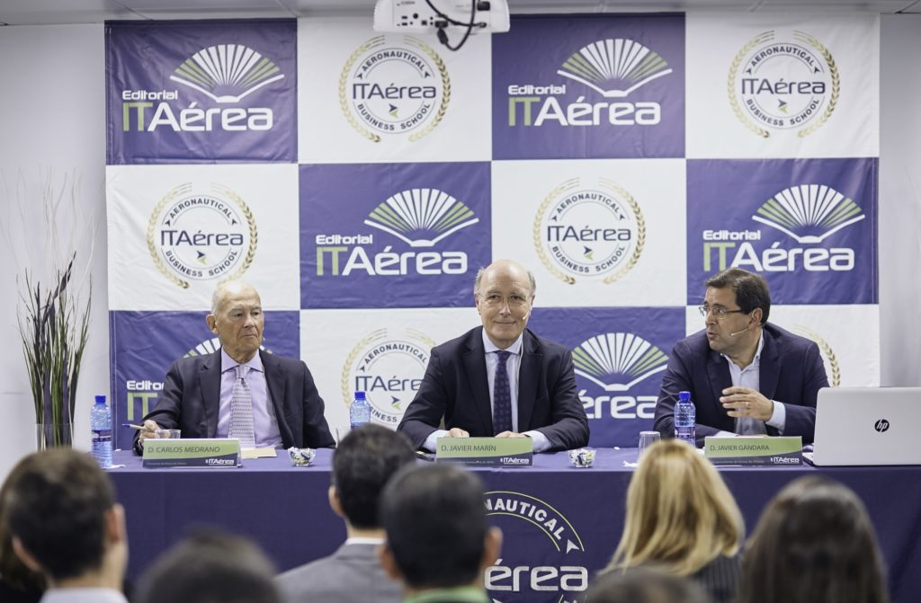 MG 9269 1024x671 - D. Javier Marín, Director General de Aeropuertos de AENA, imparte conferencia extraordinaria en ITAérea Madrid