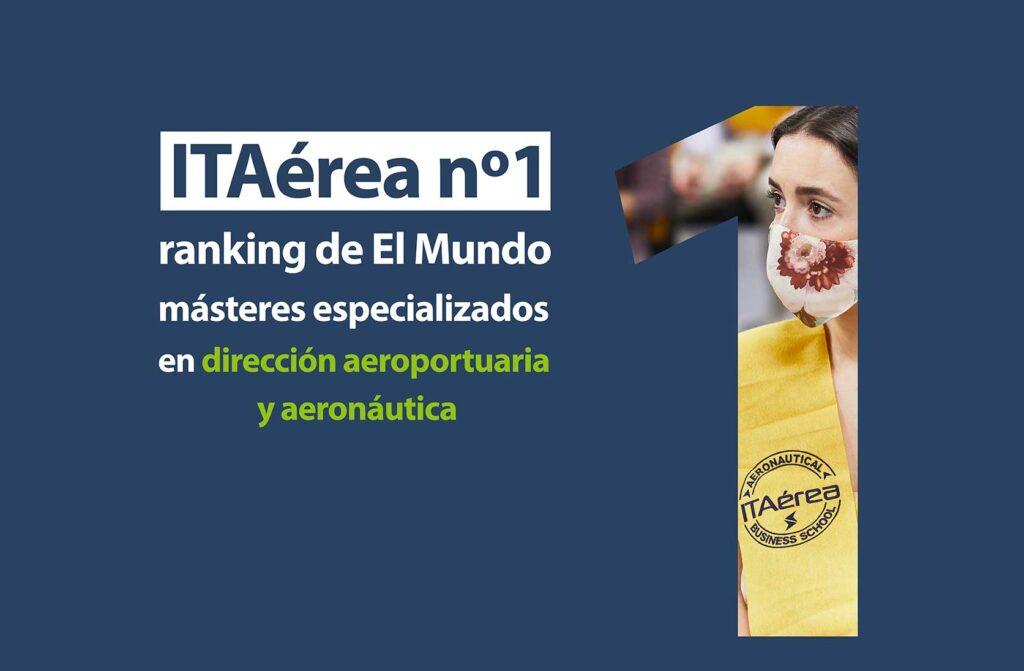 Número 1 ranking El Mundo 1024x671 - ITAérea en la primera posición del ranking de másteres especializados de El Mundo