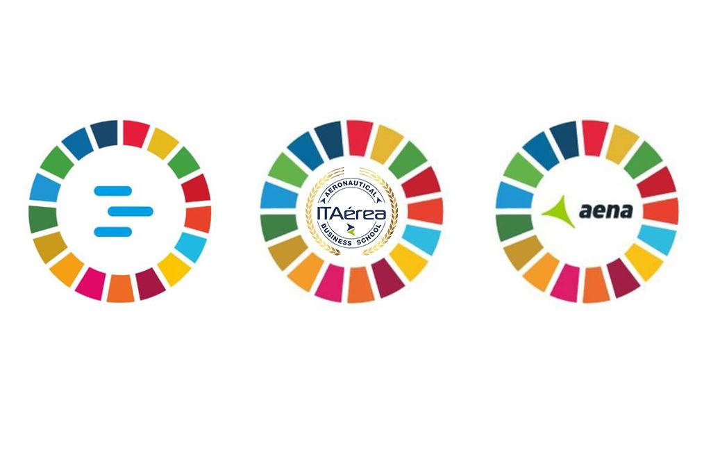 ODS aena enaire ITAérea 1024x671 - Enaire, Aena e ITAérea apoyan los Objetivos de Desarrollo Sostenible de la ONU