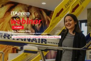 WEBINAR 14 abril Susana Brito 300x200 - Clase magistral sobre la sostenibilidad en el sector aeronáutico