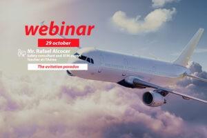 WEBINAR 29 octubre 300x200 - Formación e-learning: Máster en Gestión y Dirección Aeroportuaria y Aeronáutica