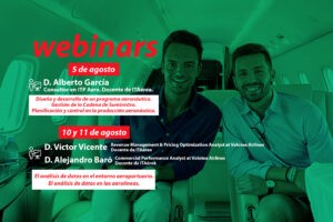 WEBINARS agosto 300x200 - Formación e-learning: Master in Sustainable Air Transport Management MATSM
