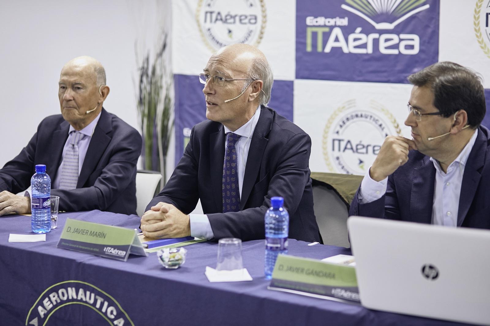 MG 9285 - D. Javier Marín, Director General de Aeropuertos de AENA, imparte conferencia extraordinaria en ITAérea Madrid