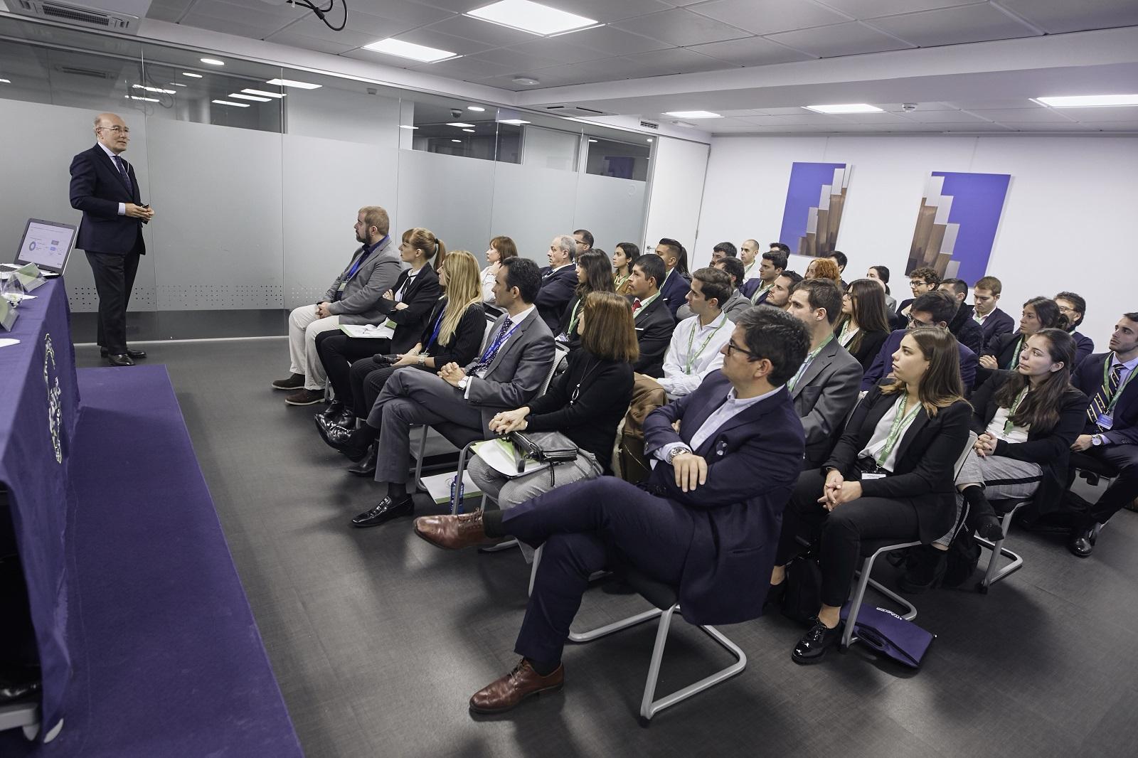 MG 9349 - D. Javier Marín, Director General de Aeropuertos de AENA, imparte conferencia extraordinaria en ITAérea Madrid