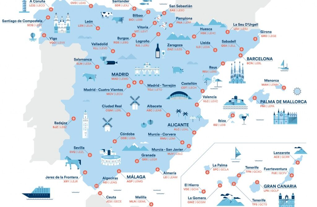 aeropuertos España nueva 1024x671 - ¿Cuáles son los aeropuertos más importantes de España?