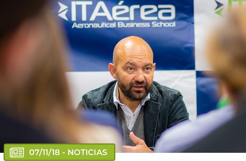 confere 1024x671 - Conferencia extraordinaria de D. Jaime García-Legaz, expresidente de AENA, en ITAérea Madrid