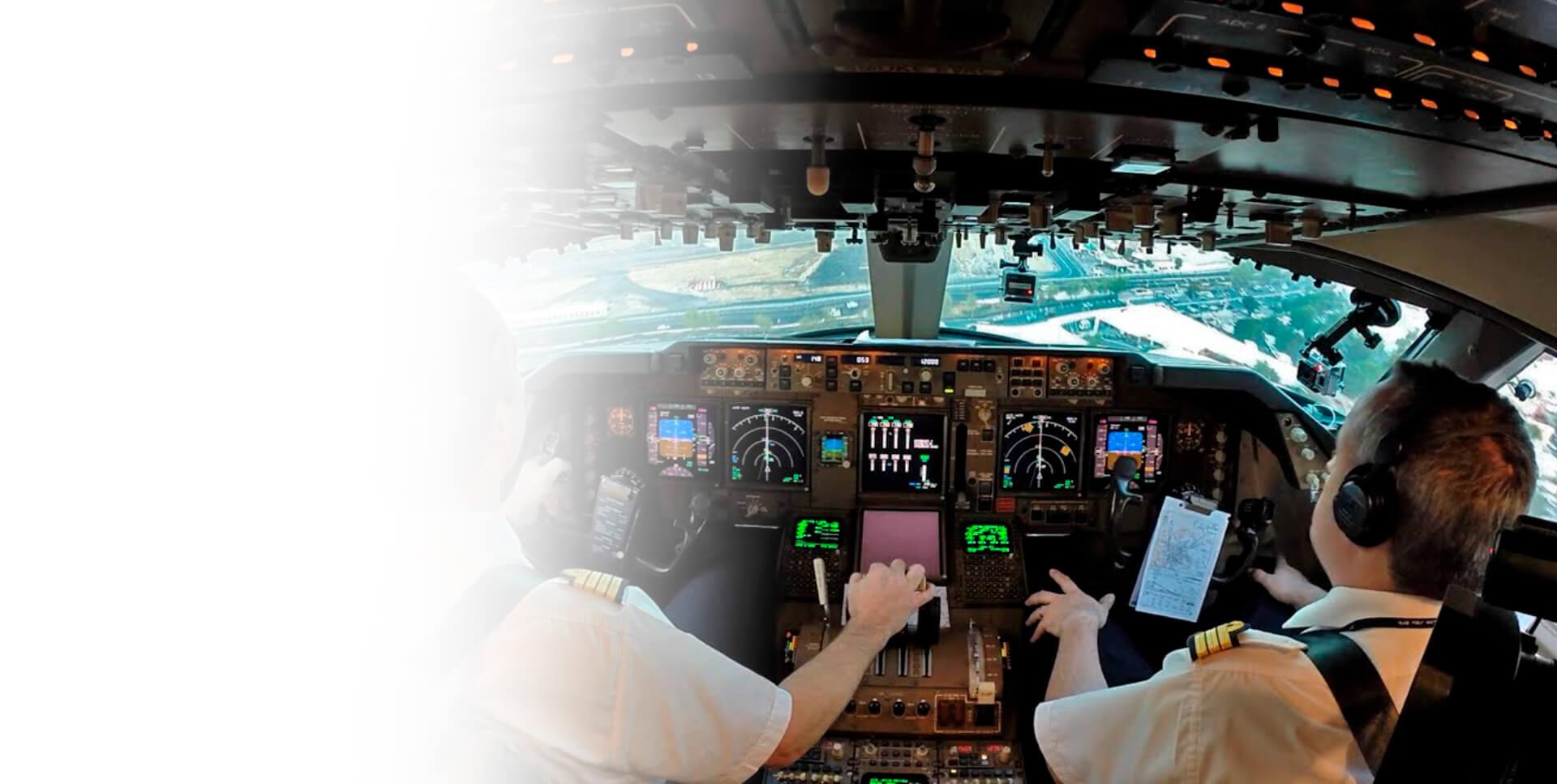 <span class='negritaslide'>Diplomado en CRM y <br />Factores Humanos en aviación.</span>